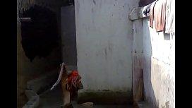 Bengali boudi Bathing...