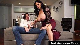 Hot BBW Angelina Castro...