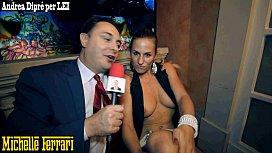Pornstar Michelle Ferrari does...