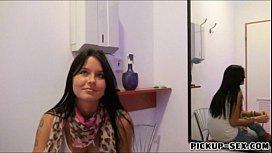Hot sexy receptionist Mia...