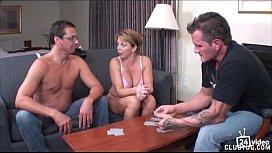 Strip poker winner gets...