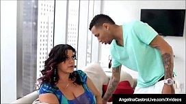 Massive Boobed BBW Angelina...
