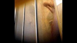Wife in shower spy cam