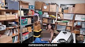 Teen Shoplifter With Big...