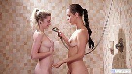 Lesbian Shower Sex - Chloe...
