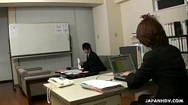 Asian office lady Tsubaki...