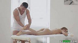 Sensual massage turns into...