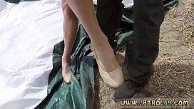 Police uniform threesome and...