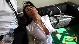Candi Kayne gets throat...