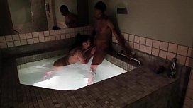 Hot tub fun jahan...