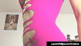 Busty Lauren Phillips Uses...