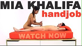 MIA KHALIFA - Arab Goddess Performs Expert Level Handjob On Peter Green