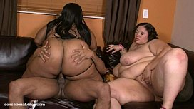 Big Tit BBWS Cotton Candi and Anastasia Fuck Big Black Cock hanamiblossom mfc