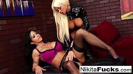 Nikita and Jewel Jade...