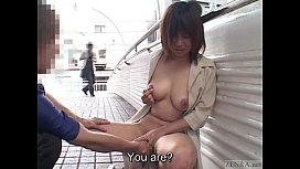 Subtitled extreme Japanese public nudity vibrator play pornzoovideos