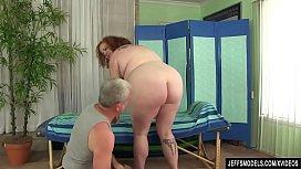 Redheaded Fat Girl Scarlett...