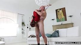 Tiny redhead Brooke Haze...