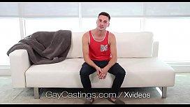GayCastings Newcomer Sean Cross...