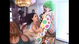 The clown, the midget...
