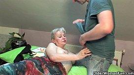 Grandma in heat needs...