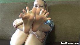 POV Foot Worship Fetish...