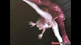 GamerOrgasm.com | Dirty Monster Hard Fucking 3D Hentai