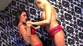 Hot Big Boobed Lesbians...