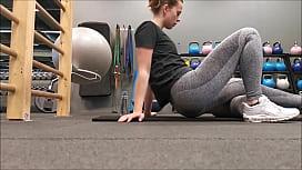 voyeur girls at the gym
