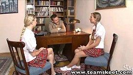 TeamSkeet European schoolgirls Mina...