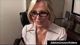Hot Office Milf Julia...