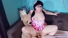 Play Time with Kiwwi - Teddy Bear Fuck!