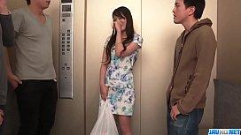 Nana Nakamura acts naughty...