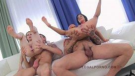 LEGALPORNO FULL SCENE - Timea & Sandra 2 sluts on 2 cocks girls gone wild xxx