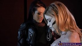 Power Ranger chick seduce...