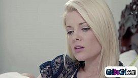 Jenna Sativa kisses Charlotte...