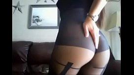 Sexy Brunette Slut Shows...