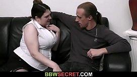 Big tits bitch seduces...