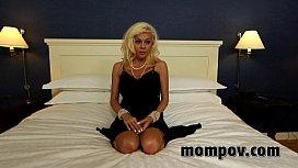 Big tit blonde milf...
