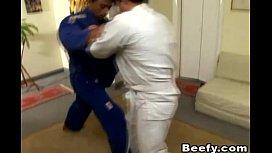 Beefy Gay Karate Teacher...