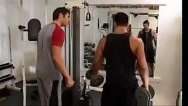 Seduced a gym buddy