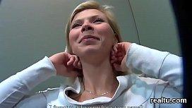 Breathtaking czech girl gets...