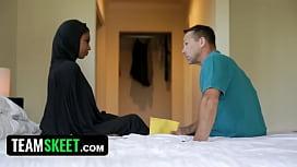 Black arab teen cremapied...