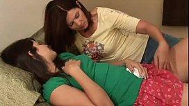 Aunt comforts her Niece...