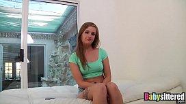 Pretty teen April Brookes...