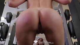 PureMature Busty mature Sabrina...