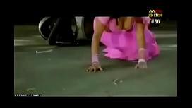 Desi Actress Exposing Massive Cleavage In Sari
