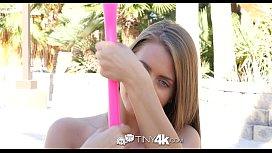 Tiny4k - Hazel eyed petite...