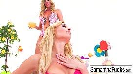 Samantha Saint and Victoria...