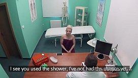 Doctor bangs blonde after...