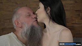 Grandpa gets to lick...
